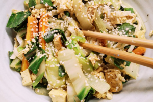 Ayurvedic take on Chinese 5 Spice Noodles // Eat & Breathe // Recipe Book