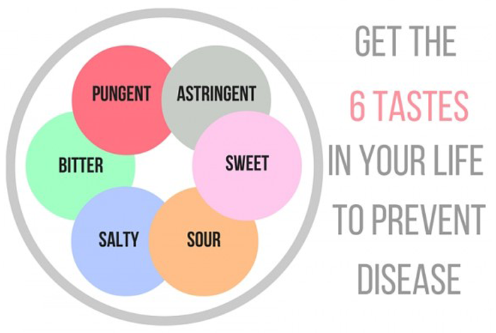 Get The 6 Tastes In Your Life To Prevent Disease // Eat & Breathe