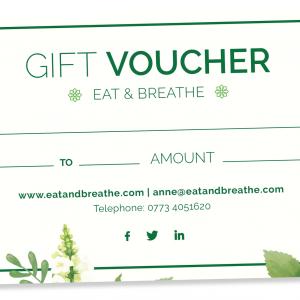Gift Voucher | Eat & Breathe